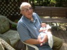 Dad with James